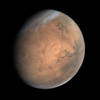 Холст - Планеты. Марс
