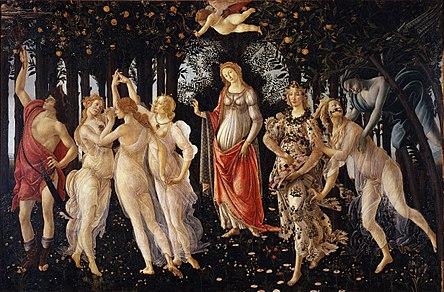 Sandro Botticelli. Primavera (1482)